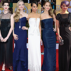 RED CARPET: Celebrity style from the SAG Awards
