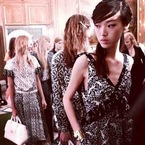 SPRING/SUMMER: Beachy hair meets glamour at Mulberry