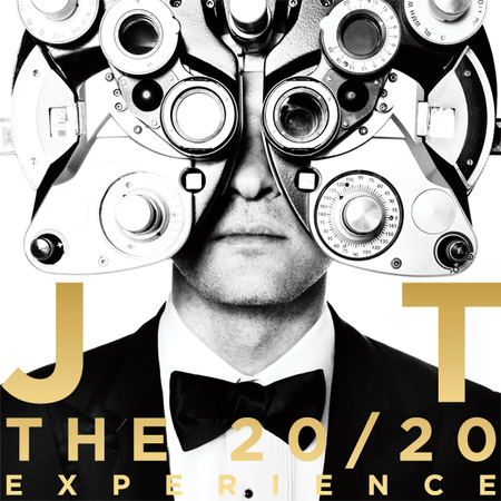 Justin Timberlake 20/20 experience album cover