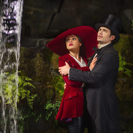 Oz The Great And Powerful, James Franco, Mila Kunis,