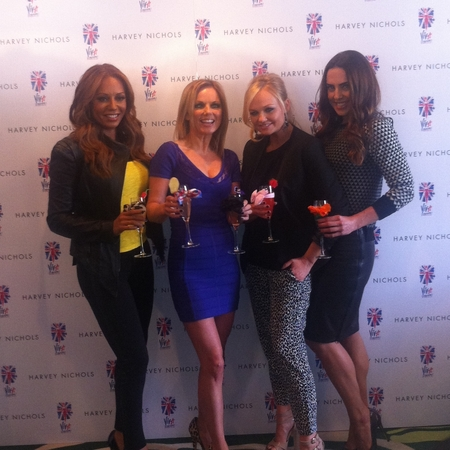 The Spice Girls Viva Forever! Afternoon Tea launch at Harvey Nichols