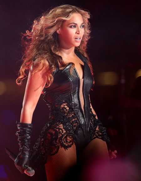 Beyonce at the Super Bowl 2013