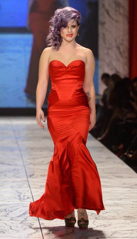 Kelly Osbourne hits the runway for The Red Dress Show