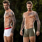 PICS! David Beckham shows off new H&M Bodywear