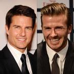 "David Beckham: ""Tom Cruise is better looking than me"""