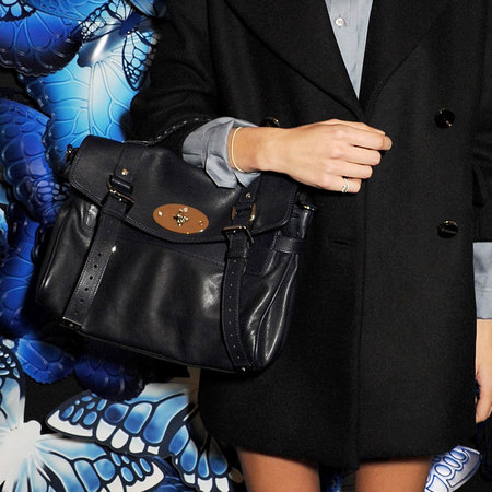 Alexa Chung at Mulberry AW13