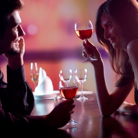 Dating, drinking, dinner