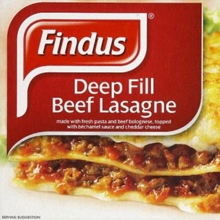 Findus horse meat lasagne