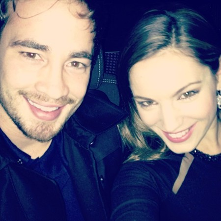 Kelly Brook and Danny Capriani