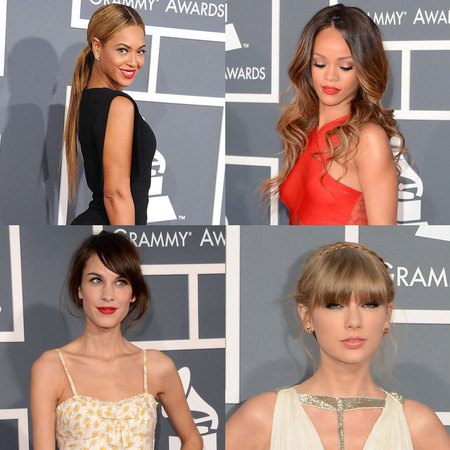 RED CARPET HAIR: Grammy Awards 2013
