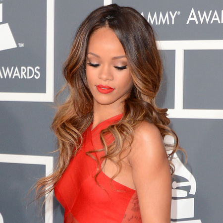 Rihanna at Grammys 2013