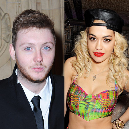 Rita Ora and James Arthur