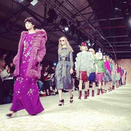 House of Holland AW13 at LFW