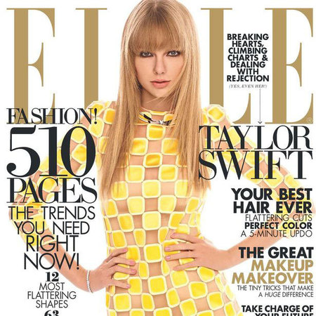 Taylor Swift ELLE US cover