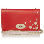 BAG LOVE: Mulberry Valentine's Bayswater clutch