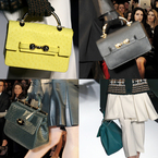 LONDON FASHION WEEK: Mulberry AW13 handbags