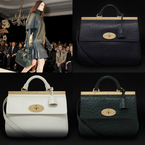 HANDBAG TREND: Mulberry shows new Suffolk bag at LFW AW13