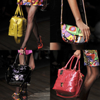 LFW: PPQ handbags get big, bright and bold for AW13
