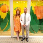 FASHION WEEK: Richard Nicoll talks LFW and Tropicana