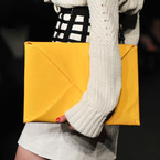 London Fashion Week: Sass & Bide envelope clutch for AW13