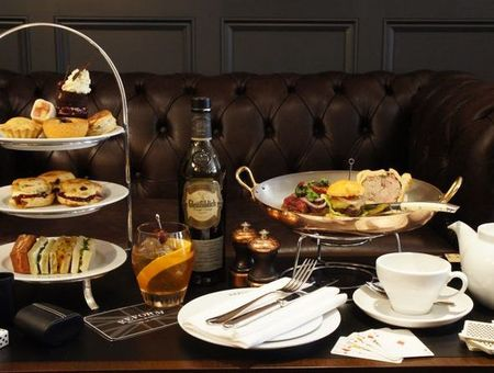 Reform social and grill afternoon tea