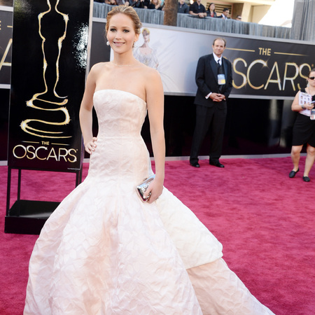 Jennifer Lawrence at 2013 Oscars
