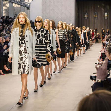 Burberry AW13 finale at LFW