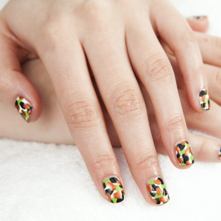 BRIT Awards 2013 Nail Art by Jenny Longworth and Revlon