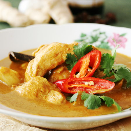 Malaysian chicken curry recipe