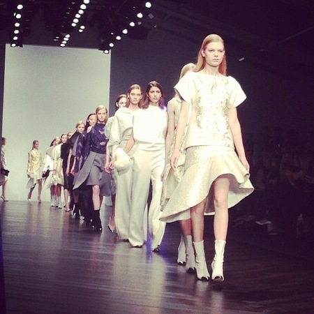 Every on-schedule runway show from LFW SS14 streamed live for you right here...