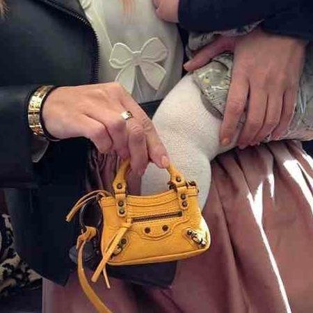 Kim Kardashian buys baby Penelope a Balenciaga bag