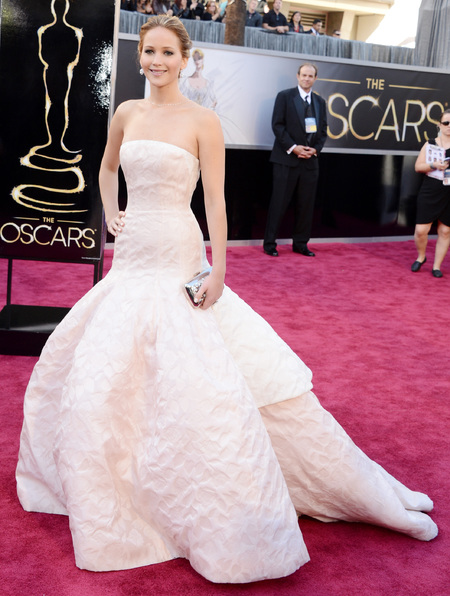 Jennifer Lawrence: THE Dior Oscars dress