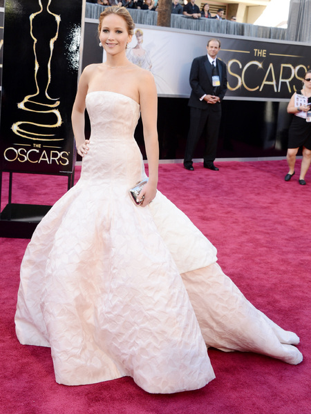 Wedding dress inspiration from the Oscars