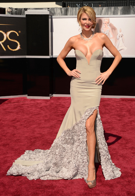 Brandi Glanville at the Oscars