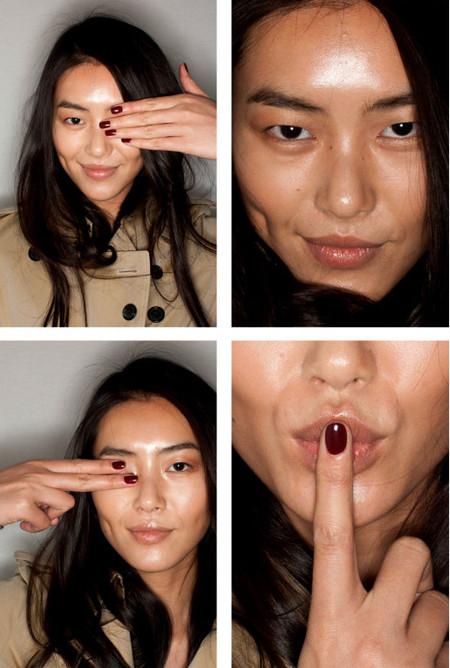 Burberry Trench Kisses nails