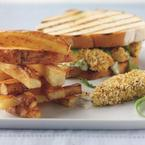 Fish finger sandwich and Jenga chips recipe