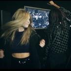 LFW: Cara Delevingne does Harlem Shake at Topshop