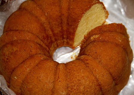Beyoncé's vanilla sponge cake
