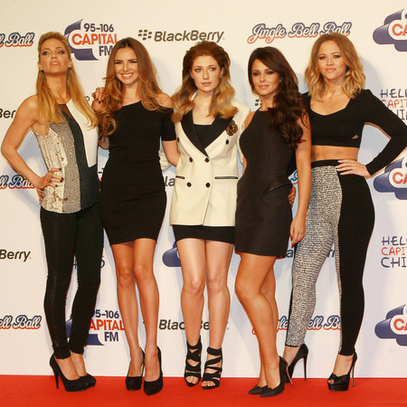 Girls Aloud at the Jingle Bell Ball