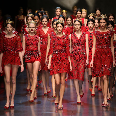 Dolce & Gabbana Milan Fashion Week Autumn/Winter 2013