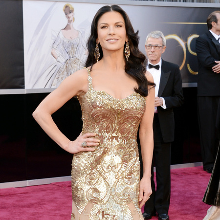 Catherine Zeta-Jones at 2013 oscars