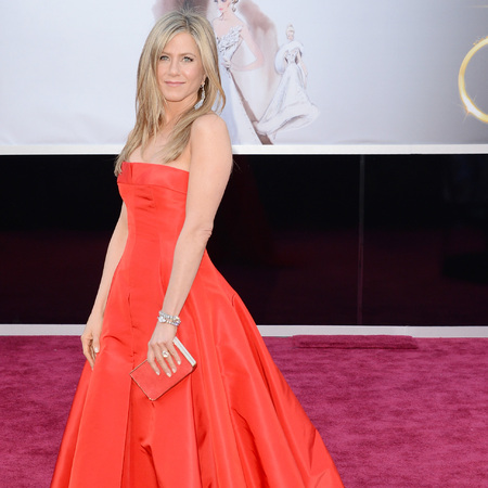 Jennifer Aniston at 2013 oscars