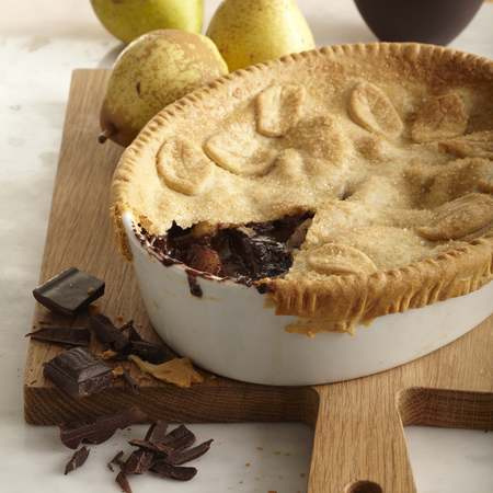 Chocolate and Pear Pie