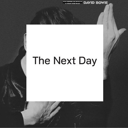 David Bowie's The Next Day album sleeve