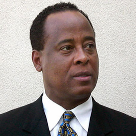 Michael Jackson's doctor Conrad Murray