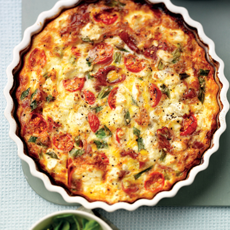 No pastry quiche recipe