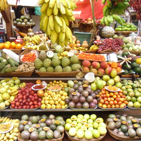 Funchal Market Madeira