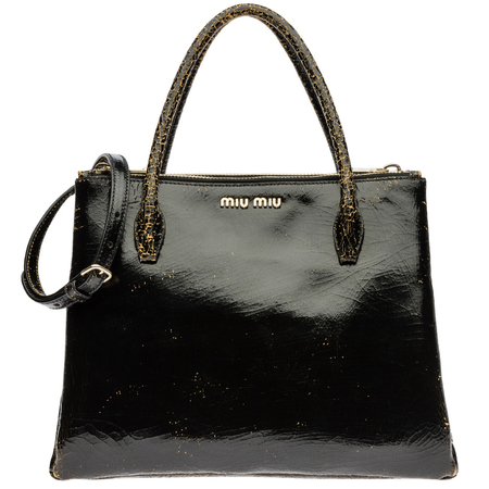 Miu Miu craquelé bag from the Spring/Summer 2013 collection