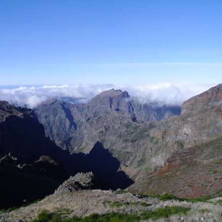 Madeira mountain ranges