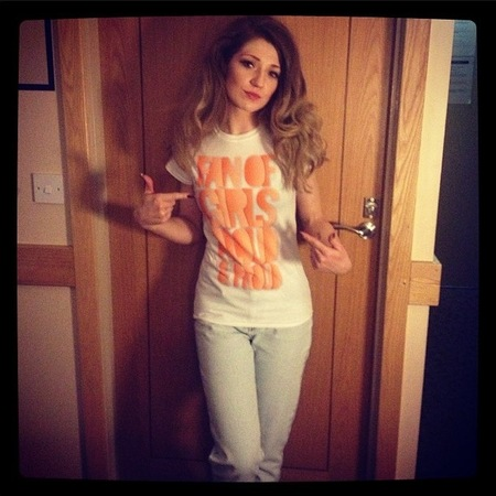 Nicola Roberts Girls Aloud tour t-shirt